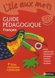 Alain Bentolila - Français CE1 - Guide pédagogique.