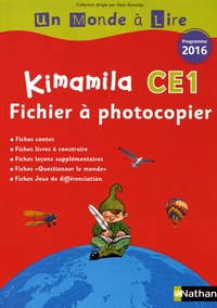 Alain Bentolila - Kimamila CE1 - Fichier à photocopier.