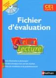Alain Bentolila et François Richaudeau - L'Atelier de lecture CE2 - Fichier d'évaluation. 1 Cédérom