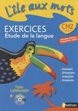 Alain Bentolila - L'île aux mots CM2 - Exercices Etude de la langue, programme 2008. 1 Cédérom