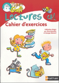 Alain Bentolila et Jean-Paul Rousseau - Lectures CE1 - Cahier d'exercices.