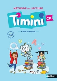 Alain Bentolila - Méthode de lecture Timini CP - Cahier d'activités.