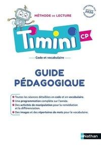 Alain Bentolila - Méthode de lecture Timini CP - Guide pédagogique.