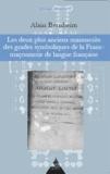 Alain Bernheim - Les deux plus anciens manuscrits des grades symboliques de la Franc-maçonnerie de langue française.