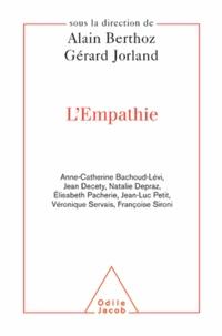Alain Berthoz et Gérard Jorland - Empathie (L').