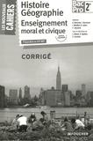 Alain Bertrand et Jacqueline Kermarec - Histoire Géographie Enseignement moral et civique 2de Bac Pro - Corrigé.