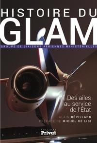 Histoiresdenlire.be Histoire du GLAM (Groupe de liaisons aériennes ministérielles) - Des ailes au service de l'Etat Image