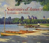 Alain Bexon et Georgette Chevallier - Souvenirs d'Annecy - Ecrivains et peintres.