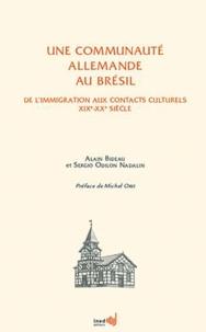 Deedr.fr Une communauté allemande au Brésil - De l'immigration aux contacts culturels XIXe-XXe siècle Image