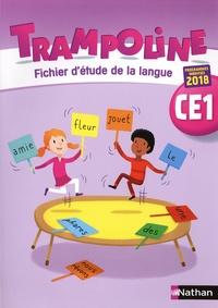 Alain Bondot et Christine Chevrier - Trampoline CE1 - Fichier d'étude de la langue.