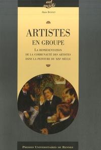 Alain Bonnet - Artistes en groupe - La représentation de la communauté des artistes dans la peinture du XIXe siècle.