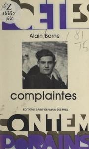 Alain Borne et Henri Rode - Complaintes.