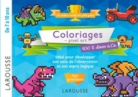 Alain Boyer - Coloriages pixel art 100 % dinos & Co..