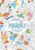 Alain Boyer - Mon cahier de coloriages magiques... Très magiques ! - Couleurs, chiffres et vacances.
