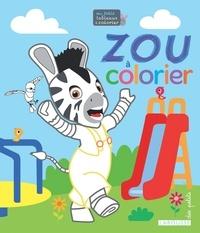 Zou A Colorier Broche