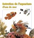 Alain Breitenstein et Pierre Darmangeat - Entretien de l'aquarium d'eau de mer.