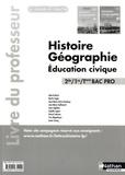 Alain Brélivet - Histoire Géographie Education civique 2e/1e/Tle Bac Pro - Livre du professeur.