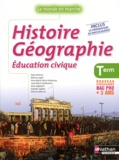 Alain Brélivet et Martin Fugler - Histoire Géographie Education civique Tle Bac Pro 3 ans - Livre de l'élève.