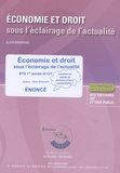 Alain Brémond - Economie et Droit sous l'éclairage de l'actualité  BTS 1e année et IUT - Enoncé.