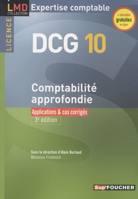 Comptabilité approfondie DCG 10 - Applications & cas corrigés.pdf