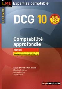 Alain Burlaud et Micheline Friédérich - Comptabilité approfondie DCG10 - Manuel.