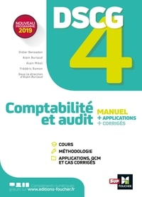 Alain Burlaud - Comptabilité et audit DSCG 4 - Manuel, applications, corrigés.