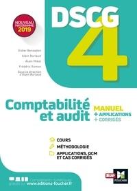Alain Burlaud - Comptabilité et audit DSCG 4 - Manuel, applications, corrigés.