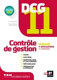 Alain Burlaud et Eric Margotteau - Contrôle de gestion DCG 11.