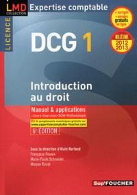 Alain Burlaud - DCG 1 Introduction au droit 2012-2013.