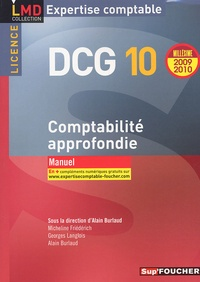 Alain Burlaud - DCG 10 Comptabilité approfondie.