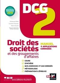 Alain Burlaud - DCG 2  Droit des sociétés et des groupements d'affaires.