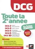 Alain Burlaud et José Destours - DCG 2ème année en fiches mémo - DCG2 Droit des sociétés, DCG4 Droit fiscal, DCG5 économie contemporaine, DCG6 Finance d'entreprise, DCG10 comptabilité approfondie.