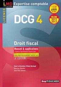 Alain Burlaud - DCG 4 Droit fiscal.