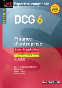 Alain Burlaud - DCG 6 Finance d'entreprise.