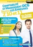 Alain Burlaud et Jean-François Soutenain - DCG Compta Management : Toutes les révisions de l'UE 7, 10,11 - Spécial dispense BTS CG et DUT GEA.