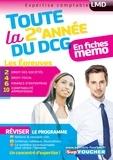 Alain Burlaud et Françoise Rouaix - DCG : Toute la 2è année du DCG 2, 4, 6, 10 en fiches.