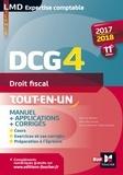 Alain Burlaud - DCG4 Droit fiscal - Manuel & applications.
