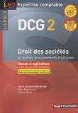 Alain Burlaud - Droit des sociétés et autres groupements d'affaires DCG 2 - Manuel et applications.