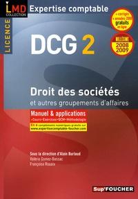Alain Burlaud et Valérie Gomez-Bassac - Droit des sociétés et autres groupements d'affaires - DCG2.