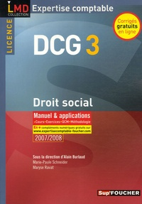 Droit social DCG3 - Manuel et applications.pdf