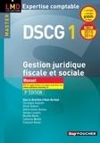 Alain Burlaud et Christophe Aubertin - DSCG 1 Gestion juridique fiscale et sociale.