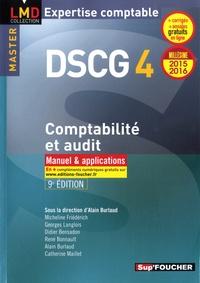 Alain Burlaud et Micheline Friédérich - DSCG 4 Comptabilité et audit - Manuel et applications.