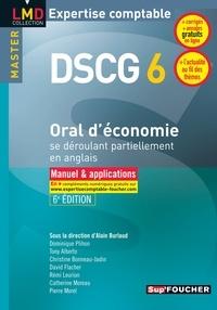 Alain Burlaud - DSCG 6 - Oral d'économie se déroulant partiellement en anglais.