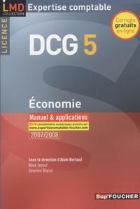 Economie DCG5- Manuel et applications - Alain Burlaud |