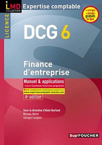Alain Burlaud - Finance d'entreprise DCG 6 - Manuel & applications 2010-2011.