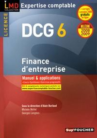 Alain Burlaud et Georges Langlois - Finance d'entreprise DCG6 - Manuel et applications.