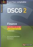 Alain Burlaud et Annaïck Guyvarc'h - Finance DSCG 2 - Applications et cas corrigés.