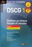 Alain Burlaud et Christophe Aubertin - Gestion juridique fiscale et sociale DSCG 1 - Manuel.