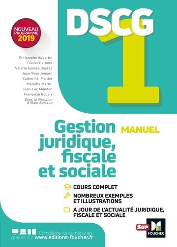 Calendrier Dscg 2019.Gestion Juridique Fiscale Et Sociale Dscg 1 Manuel Grand Format