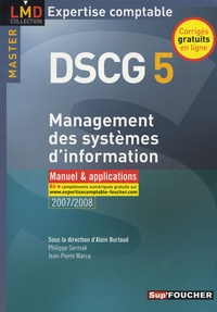 Télécharger ibooks gratuitement Management des systèmes d'information DSCG 5  - Manuel & applications par Alain Burlaud